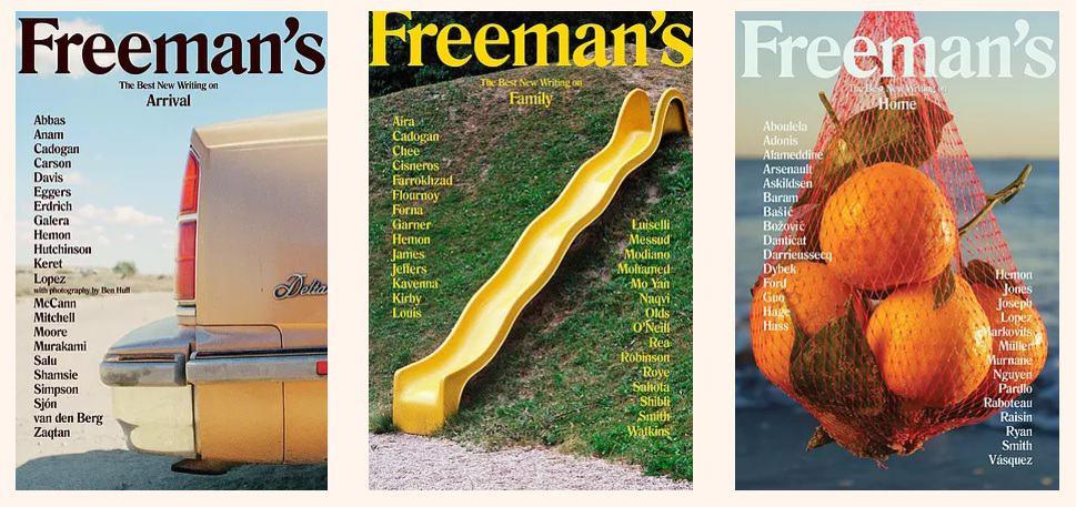 Freemans-tre-nummer-utkomna